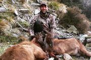 Will with 2x South Island Tahr