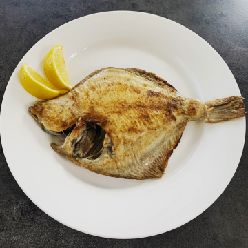 Simple but delicious, pan fried Flounder